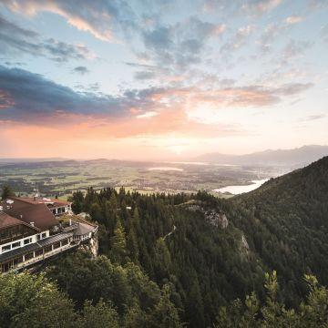 Das Burghotel Falkenstein