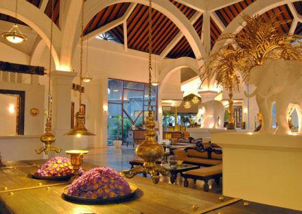 Reception area -
