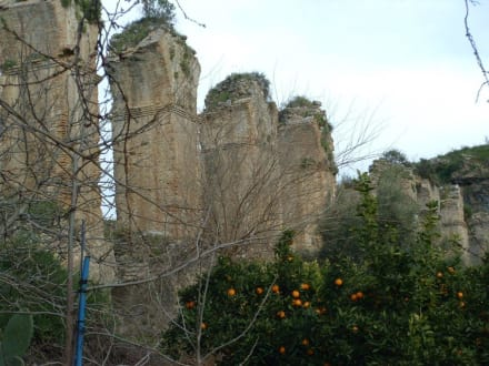 Zeitzeugen - Aquädukt Aspendos