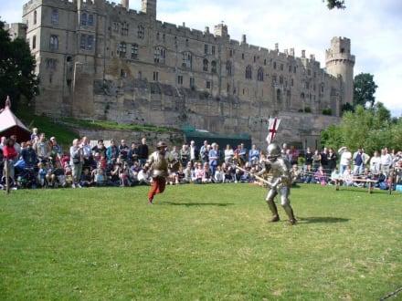 Ritterspiele - Warwick Castle