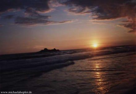 Sri Lanka - Sonnenuntergang - Strand Guada