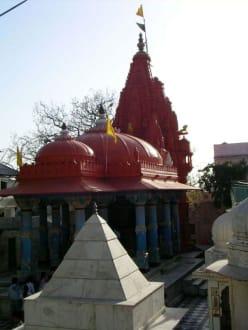 Brahma-Tempel in Pushkar - Pilgerstädte Pushkar