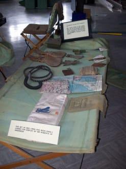 Ausrüstung während der Kriegszeit - Spitfire & Hurricane Memorial Museum