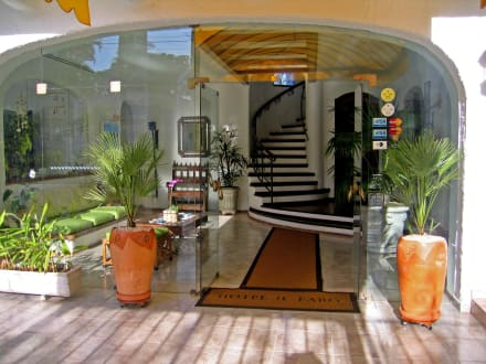 Lobby & Eingang - Hotel Il Faro