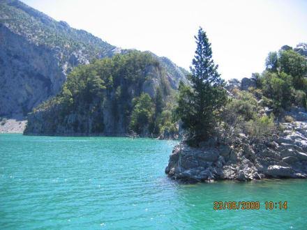 Fluss/See/Wasserfall - Oymapinar Baraji/ Stausee Green Lake & Green Canyon