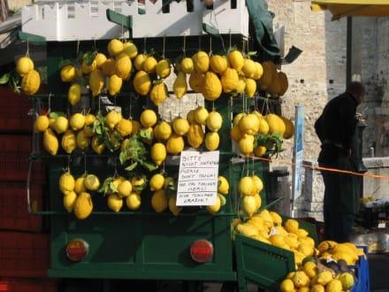 Zitronenhändler in der Altstadt Sirmione - Altstadt Sirmione