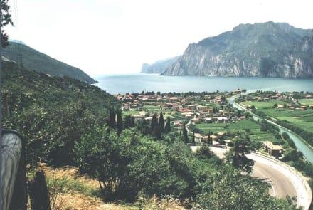 Blick auf Gardasee - Gardasee