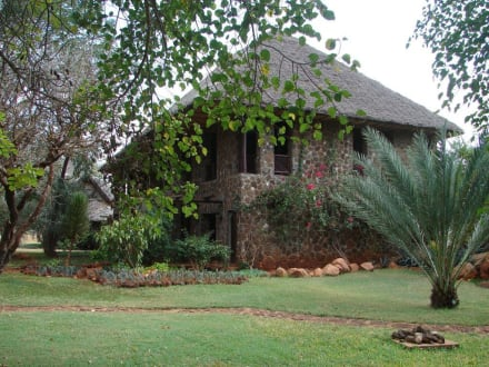 Kilaguni Serena Lodge - Tsavo West Nationalpark