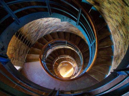 Im Turm, 156 Stufen - Leuchtturm Flügge