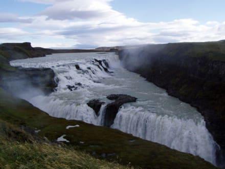 Gullfoss - Gullfoss Wasserfall