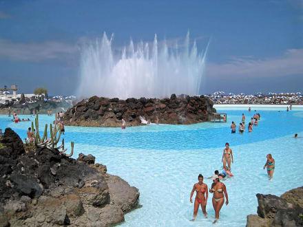 Quot Bade Spa 223 Quot Bild Meerwasserschwimmbad Lago Marti 225 Nez In