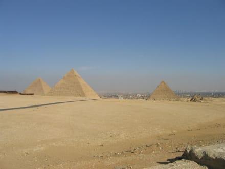 Alle 3 Pyramiden - Pyramiden von Gizeh