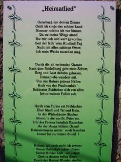 Nicht nur Ausflugsziel  - Osterburg