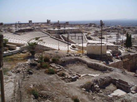 Theater in der Zitadelle - Zitadele von Aleppo