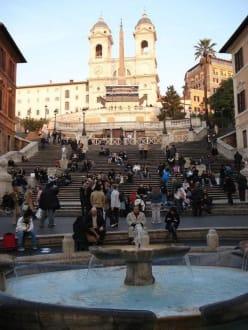 Spanische Treppe - Piazza di Spagna & Spanische Treppe