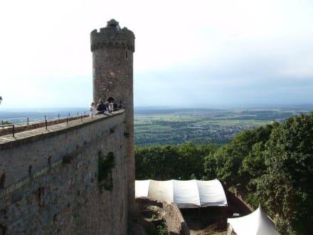 Auerbacher Schlossturm - Schloss Auerbach