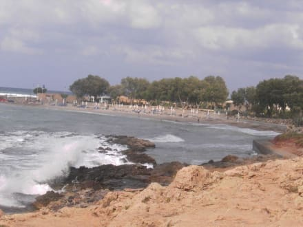 Strand vom Hotel Kalimera Kriti - Strand Sissi