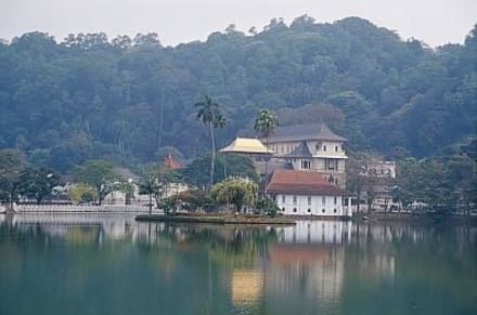 Kandy -  Zahntempel - Dalada Maligawa (Zahntempel)