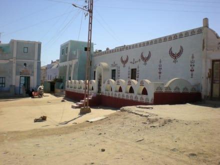 Dorfplatz - Nubisches Dorf