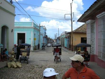 Typische Straßenszene in Trinidad - Altstadt Trinidad