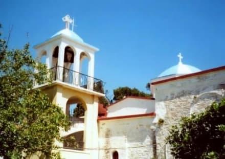 Blick von den Arkaden des Klosterhofes - Kloster Zoodochos Pigis