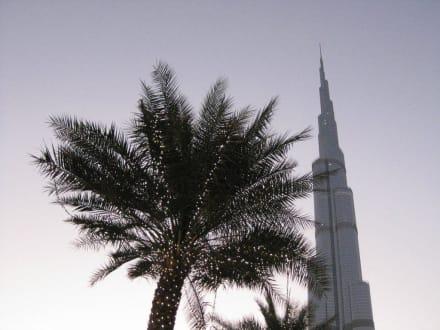 Vom Vorplatz - Burj Khalifa