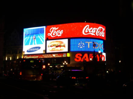 Pic Leutreklame - Piccadilly Circus