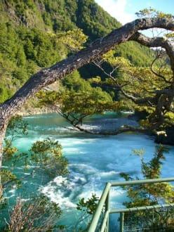 Saltos del Petrohue - Saltos del Petrohue Wasserfall