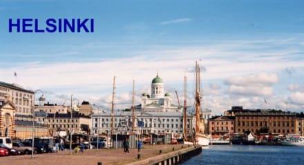 Hafenkai Finnland - Hafen Helsinki