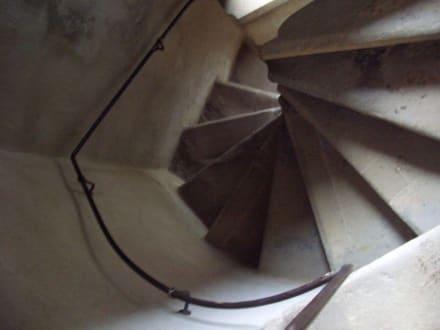Treppenhaus - Burgruine Stolpen