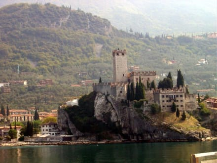 Die Burg in Malcesine - Castello di Malcesine