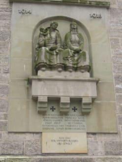 Zum Gedenken an der Georgenkirche zu Eisenach - Georgenkirche
