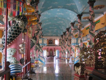 Cao Dai Tempel - Cao Dai Tempel