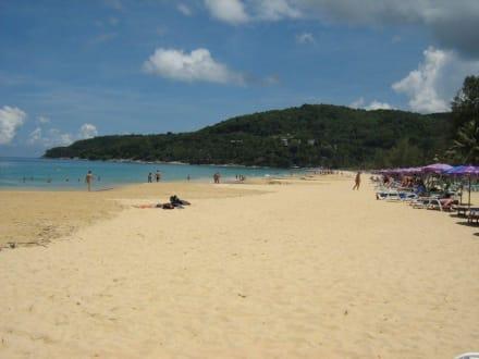 Karon Beach, im April 2006. - Strand Karon