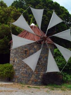 Windmühle Lassithi-Hochebene - Hochebene von Lasithi