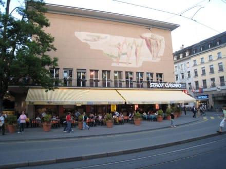 Das Stadt Casino am Barfüsserplatz - Restaurant Papa Joe's Basel