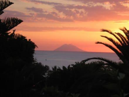Sonnenuntergang - I - Hafen Tropea
