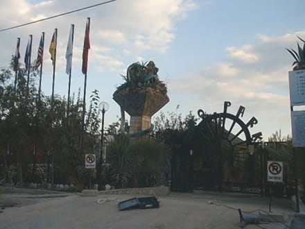 Eingang Eko-Park - Eko-Park (geschlossen)