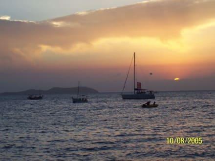 Sonnenuntergang beim Café del Mar - Cafe del Mar