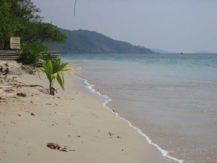 Strand in Richtung Süden - Nice Beach