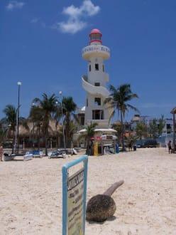 Leuchtturm in Playa Del Carmen - Leuchtturm in Playa Del Carmen