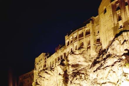Die Altstadt bei Nacht - Altstadt Tropea