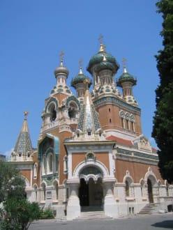 Russische Kirche in Nizza - Russisch-Orthodoxe Kathedrale Hl. Nikolaus