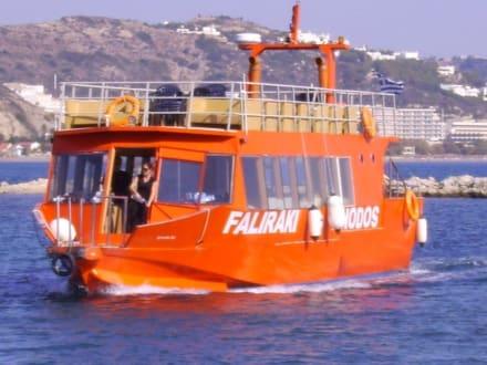 Schiff-Verbindung Faliraki-Rhodos - Transport