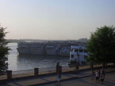 Nil bei Komb Ombo - Nil