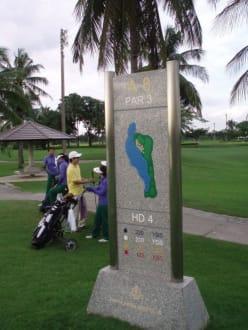 Par 3-eine Frechheit! - Panya Indra Golf Club