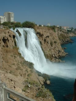 Antalya Wasserfall - Unterer Düden Wasserfall / Karpuzkaldiran Şelalesi
