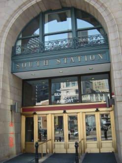 South Station Boston - Amtrak Railpass