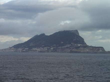 Affenfelsen von Gibraltar - Affenfelsen und St. Michael's Cave