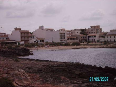 Kleiner Strand- Blick - Cala Galiota